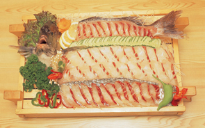 East Sea Saengseon-hoe(Sliced Raw Fish)